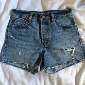 Levi's jean wedgie short